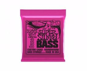 Encordoamento Baixo 4cordas Ernieball 2834 Super Slinky 045