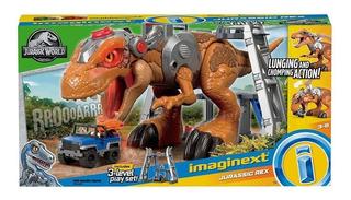 Imaginext Mattel Gran T. Rex Luz Sonido Jurassic World 80cm