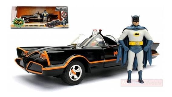 Miniatura Batmovel - Classic Tv Series E Batman - Esc:1/24