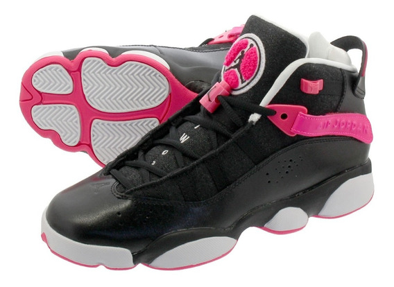 Tenis Jordan 6 Rings Black Pink 26mx