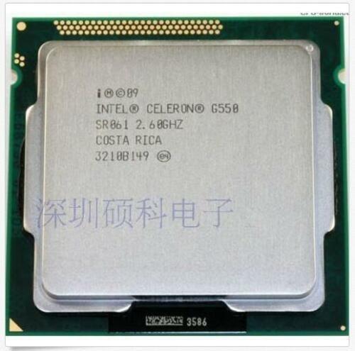 Processador Dual Core G550 2.60ghz Lga 1155