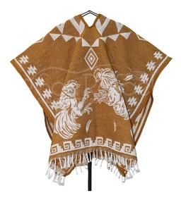 Gabán Diseño Mexicano - Gallos - Varios Colores