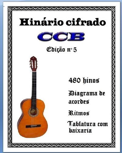 Imagem 1 de 4 de Promoção Hinário N°5 Ccb (cifrado Para Violão) Intermediário