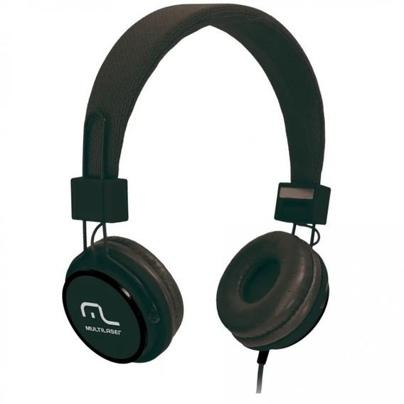 Fone De Ouvido Headphone Fun P2 Multilaser Preto