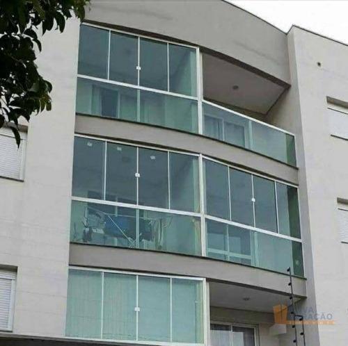 Apartamento À Venda, 53 M² Por R$ 179.900,00 - Planalto - Caxias Do Sul/rs - Ap0605