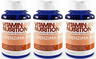 Coenzima Q10 Con Colageno Hidrolizado Antiage - 90 Capsulas