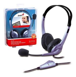 Audífono Genius Hs-04s Con Micrófono / Lhua Store