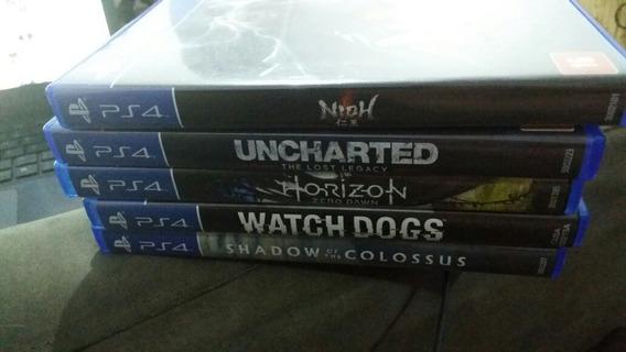 Uncharted The Lost Legacy E Mais 4 Jogos De Ps4