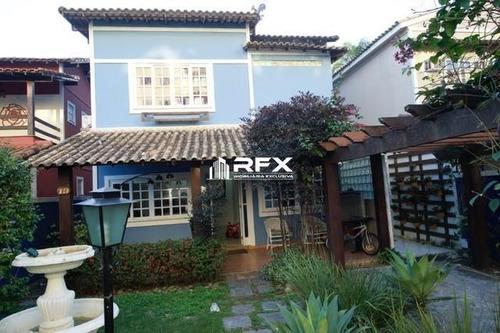 Casa De Condomínio Com 5 Dormitórios À Venda - Badu, Niterói/rj - Cav22057