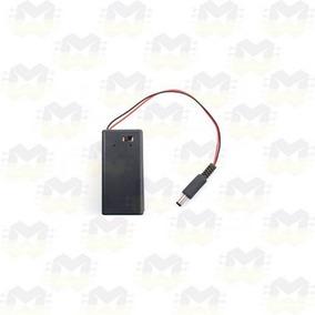 Case Suporte Porta Bateria 9v Com Plug P4