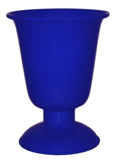 Vaso Tulipa Alumínio Pequeno 18x14 Cores Arranjo Decoração Mesa Festas Eventos Aniversário Casamento Casa C/ Nota Fiscal