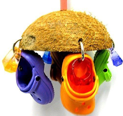 Bonka Bird Toys 1784 Coco Croc Bird Toy Jaula De Loro Juguet