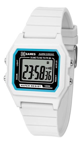 Relógio X-games Feminino Digital Xlppd028 Bxbx Branco