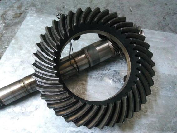 Coroa/pinhão 4 Marchas 9x37 Para Adaptação Ap Turbo Usado
