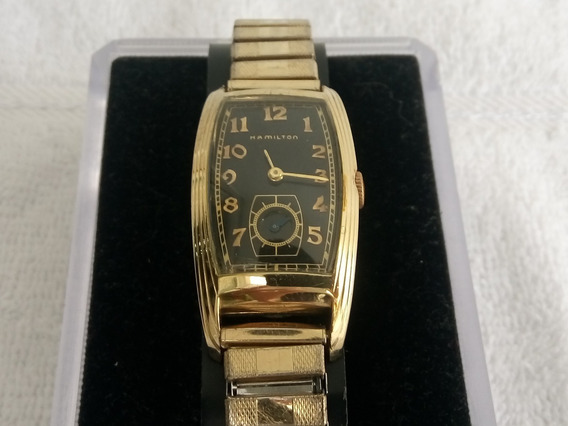 Reloj Hamilton Curvex De Cuerda Gold Filled De Coleccion
