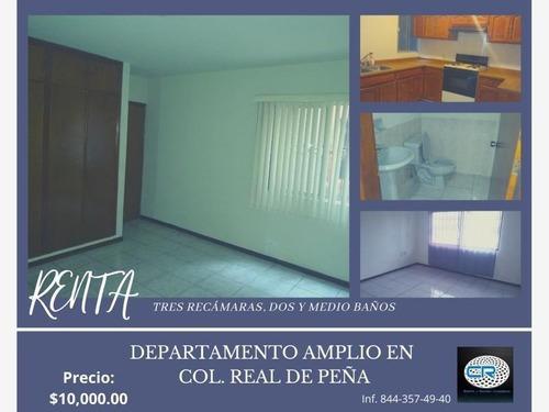 Departamento En Renta Real De Peña