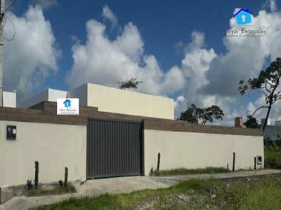 Casa Com 3 Dormitórios À Venda, 100 M² Por R$ 230.000 - Praia Do Amor - Conde/pb - Ca0476