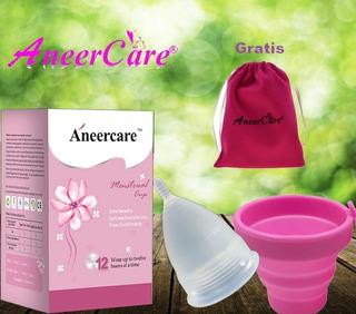 Copa Menstrual- Certificada Segura - Bolsita + Esterilizador