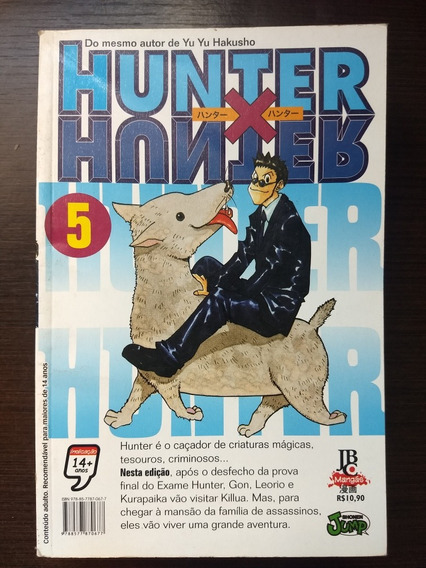 Mangá - Hunter X Hunter - Vol.05