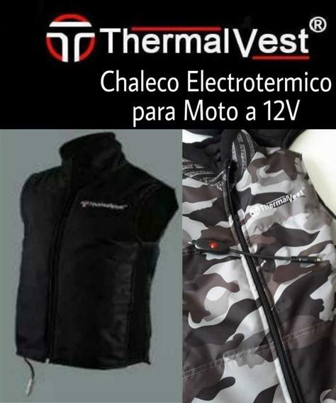 Chaleco Termo Electrico 12v Moto