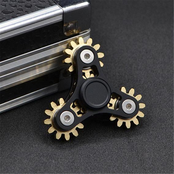 Hot Fidget Mano Spinner Engranaje Varillaje Rotar Edc Escrit