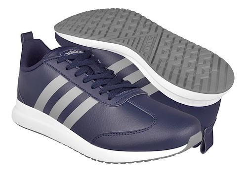 Imagen 1 de 5 de Tenis Casuales Para Caballero adidas Eg8695 Simipiel Azul