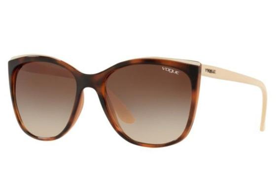 Oculos Sol Vogue Vo5189s 265413 58 Marrom Havana L Marrom De