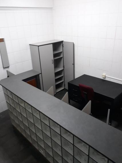Sala Comercial Mobiliada Com Balcão E Internet Incluso