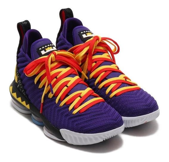 Tenis Nike Lebron Xvi 16 Martin Lawrence Colección Jordan 11