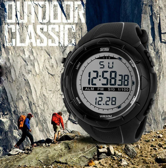 Relógio Militar Sport Skmei Prova Dágua + Caixa + Garantia