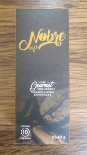 Café Gourmet 100% Arábica Em Cápsulas - 10 Cx C/ 10 Cápsulas