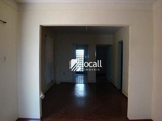 Casa Com 3 Dormitórios Para Alugar, 200 M² Por R$ 1.200/mês - Vila Santa Cruz - São José Do Rio Preto/sp - Ca1944