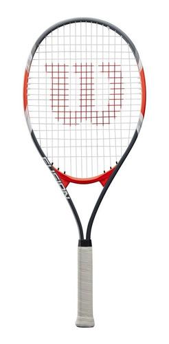 Raqueta Tenis Wilson Roger Federer Aluminio Grip 4 3/8 + Funda Estuche Regalo