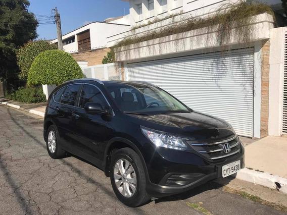 Honda Cr-v 2.0 Lx 4x2 Aut. 5p 2012 - Aceito Fit Como Pagamen