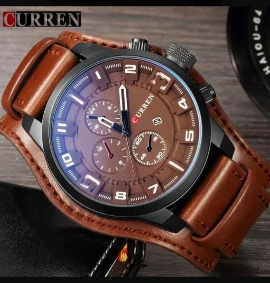 Relógio Currem Masculino Importado Original 8225