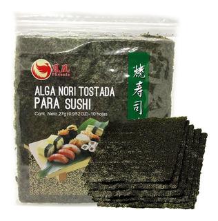 Algas Nori Para Sushi X 10 Laminas Importadas