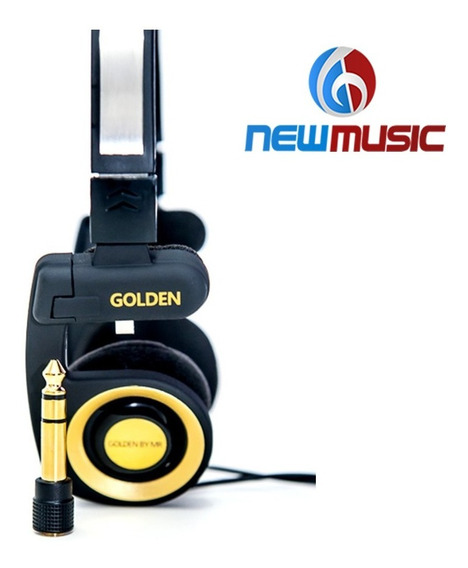 Fone De Ouvido Golden Portable #1295