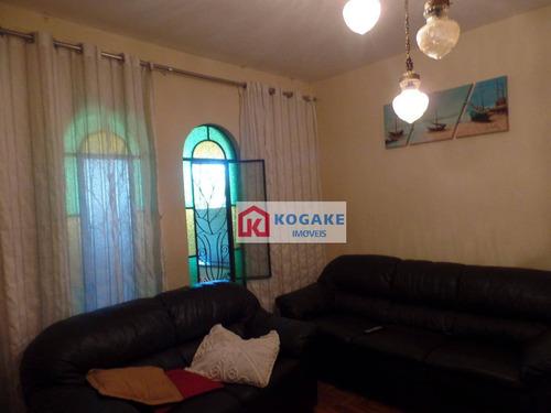 Imagem 1 de 30 de Casa Com 3 Dormitórios À Venda, 262 M² Por R$ 550.000,00 - Vila São Bento - São José Dos Campos/sp - Ca0861