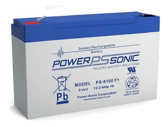 Bateria Recargable 6v 12ah - Alarmas/juguetes Electricos Etc