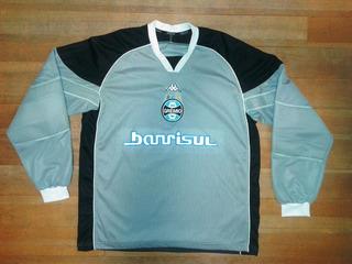 Camisa Grêmio #1 Kappa Usada Em Jogo 2004