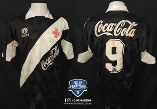 Camisa Do Vasco Oficial I Finta 1992 #9 Edmundo G