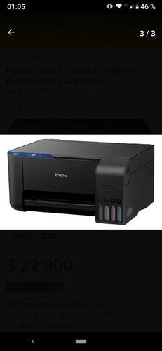 Impresora Epson L 3150 Nueva Caja Apenas Dañada. Acolor Wifi