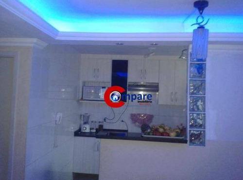 Imagem 1 de 17 de Apartamento Com 2 Dormitórios À Venda, 45 M² Por R$ 175.000,00 - Bonsucesso - Guarulhos/sp - Ap4535