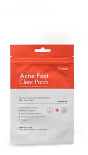 Parche Para Acne Fast Clear Patch Coony