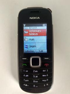 Celulare Nokia 1661 Com Lanterna+radio+fala A Hora Usado