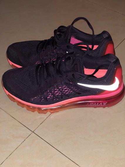 Zapatillas Nike Air Max 2015 8.5us 25.5cm Usadas Perfecto Es