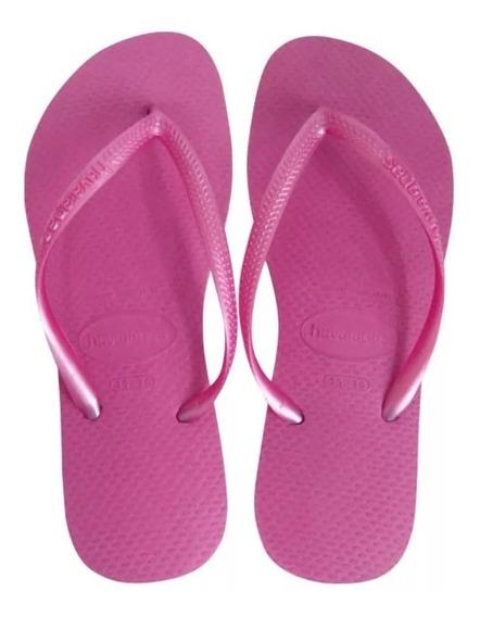 Chinelo Havaianas Slim Pink Original