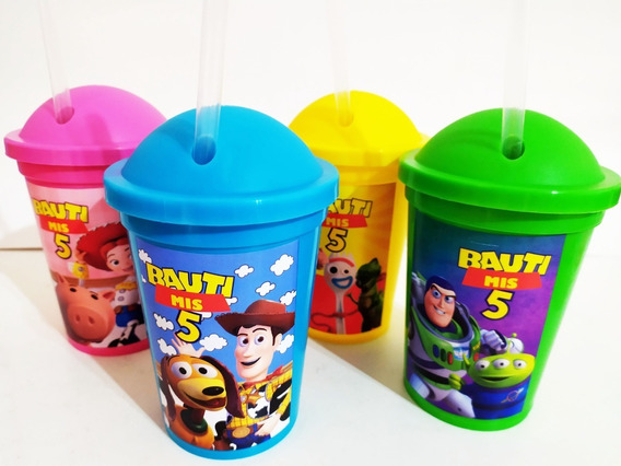 Vasos Plásticos Personalizados - Toy Story (20 Unid)