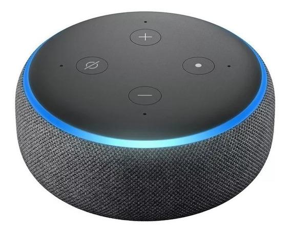 Echo Dot Alexa Amazon 3ª Geração Em Português C/ Nf-e