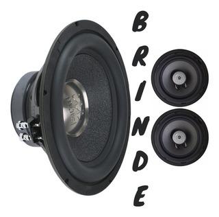 Subwoofer Morel Primo 12 350 Wrms + Brinde Audiophonic Coax